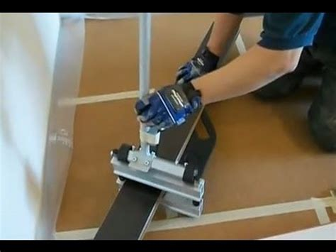 how to cut laminate flooring when you are installing laminate floor youtube