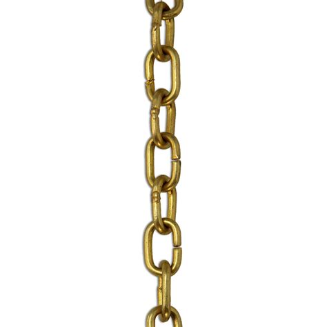 Chains For Chandeliers Ch 16 Decorative Brass Chandelier Chain Rch Supply Co