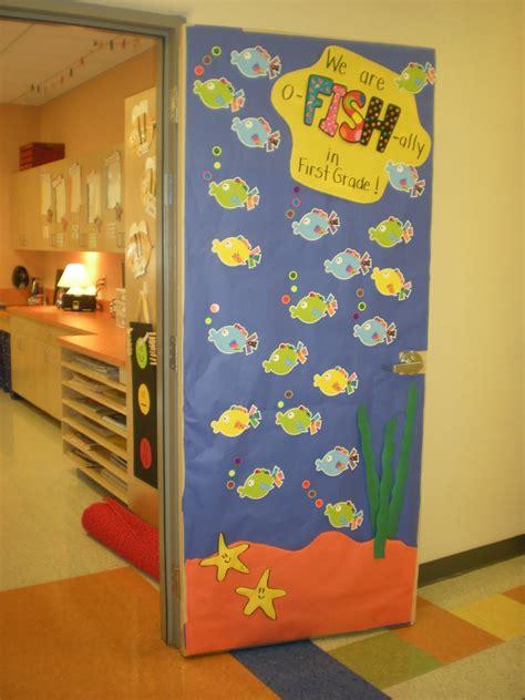 school door decorating the august 2011