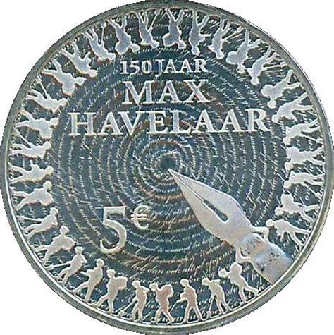 Calendrier Max Havelaar 5 Euros Max Havelaar Argent 925 Pays Bas Numista