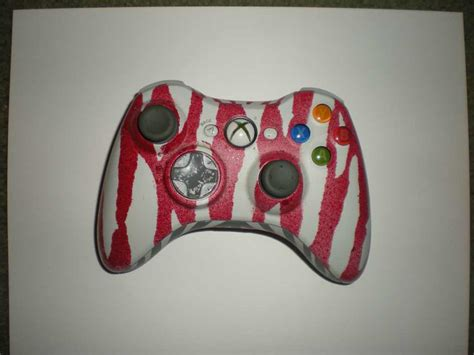 spray paint original xbox costom xbox 360 controller 1 by thecrazyjoe on deviantart