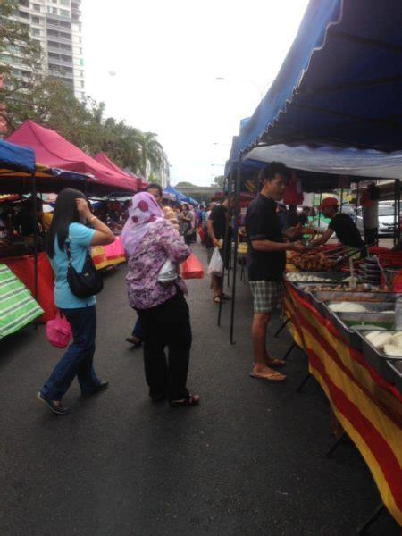 Meja Pasar Malam pasar malam plak sawanila