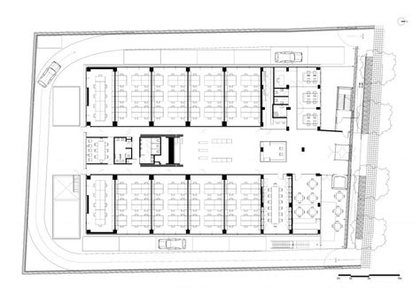 research center floor plan aeccafe archshowcase