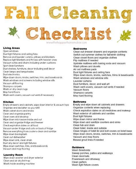 cleaning checklist house cleaning a free free printable house cleaning list