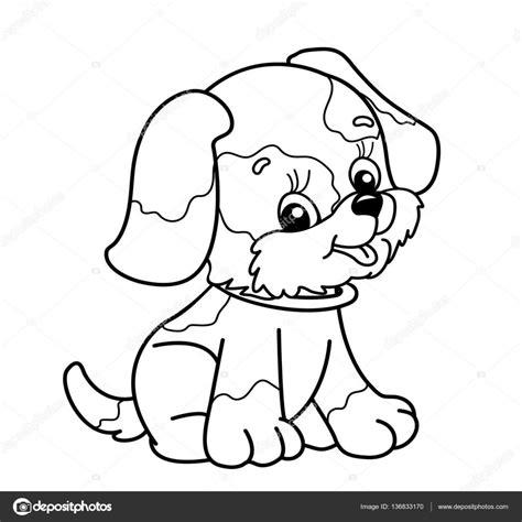 black and white coloring pages of dogs kleurplaat pagina overzicht van de hond van de cartoon
