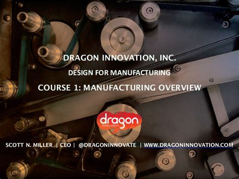 design for manufacturing course design for manufacturing course 1 overview how to