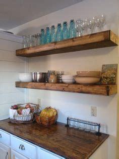 Kitchen Floating Shelves Height 17 Best Ideas About Floating Shelves Kitchen On
