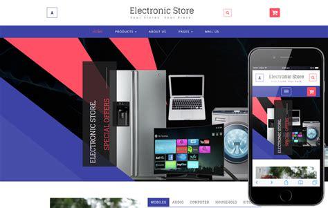 electronic store  ecommerce  shopping category