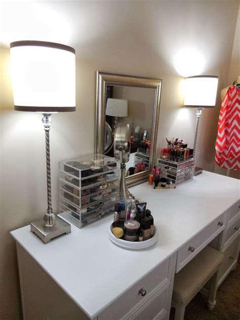 vanity organizer ideas new makeup vanity and organization ideas my videos