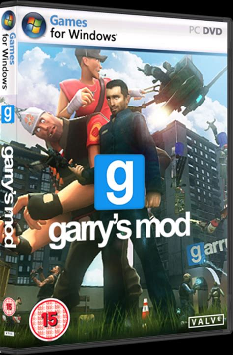 garry s garry s mod pc box art cover by danjones
