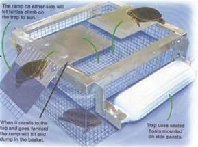 Backyard Maintenance Floating Turtle Trap