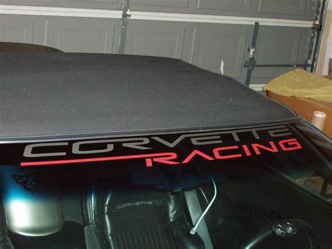 corvette racing decals corvette racing windshield decals corvetteforum