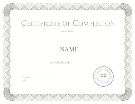 certificate paper template certificate paper template free printable certificates