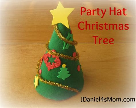 birthday hat christmas trees get the kids to make the