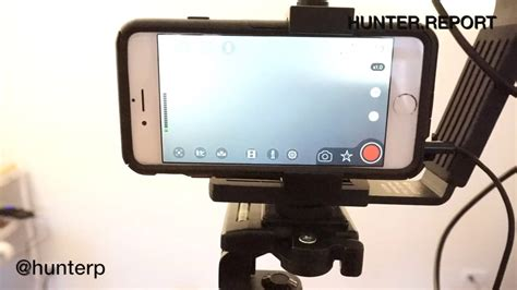 Tripod Hp Android professional iphone recording setup sennheiser wireless microphone