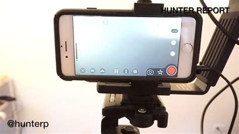 Tripod Hp Android professional iphone recording setup sennheiser