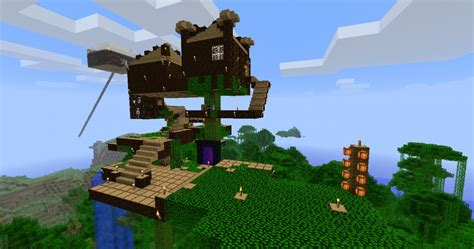 achievement treehouse minecraft project