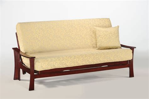 futon frame fuji standard futon frame by night day furniture