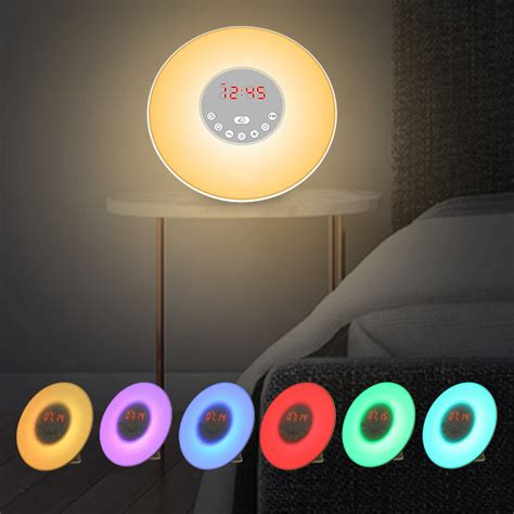 tecboss bedside l wake up light wake up light sunrise alarm clock sn end 5 5 2018 11 25 pm