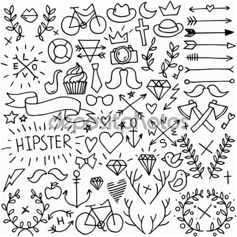 imagenes hipster pinterest 17 mejores ideas sobre dibujos h 237 pster en pinterest