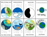 creation story for book free bible story minibooks