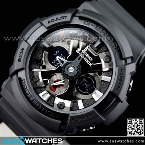 Casio G Shock Ga 201 buy casio g shock black analog digital 200m ga 201