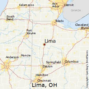 Lima Ohio Map by Best Places To Live In Lima Ohio