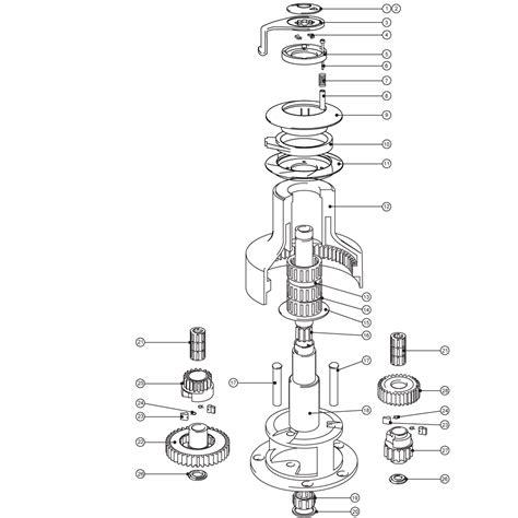 lewmar windlass parts diagram lewmar parts images