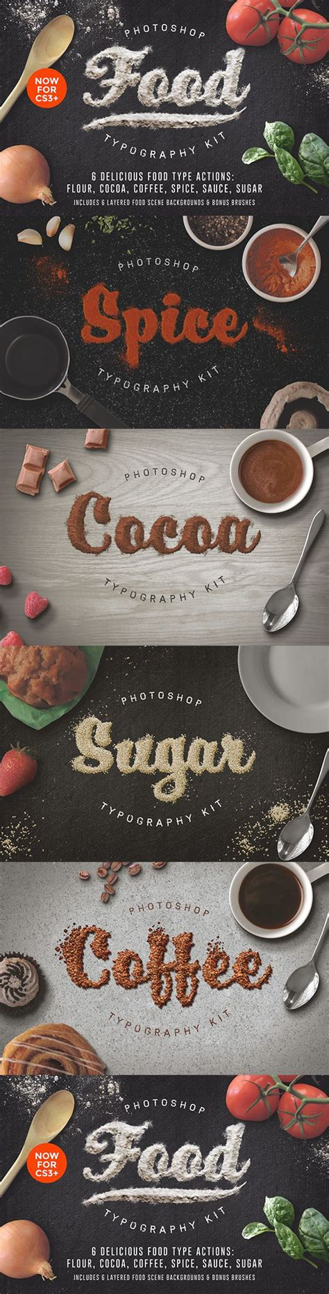 food typography tutorial photoshop 99 best images about photos and photo actions on pinterest