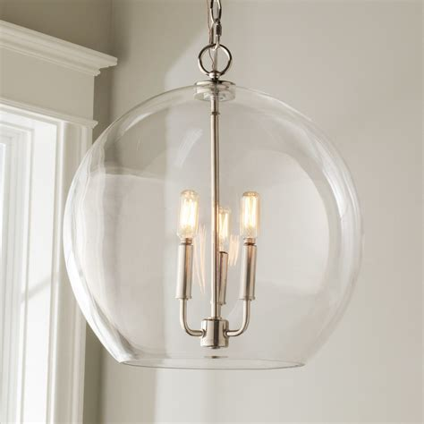 Clear Glass Sphere Chandelier Shades Of Light Glass Shades For Chandelier