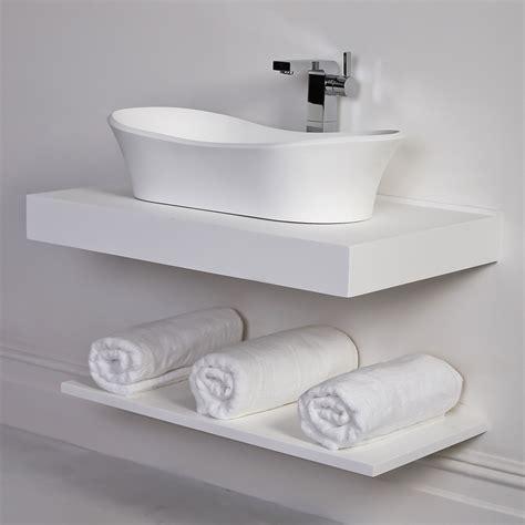 countertop vanity shelf basin shelf