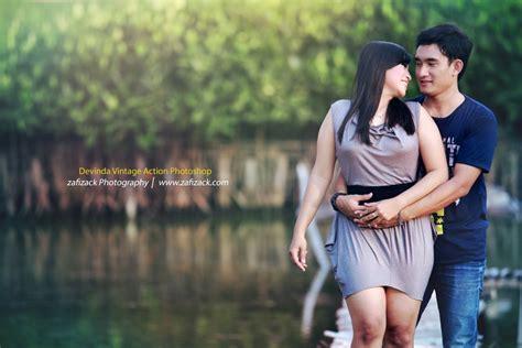 tutorial edit photoshop untuk prewedding color action photoshop zafizack photography