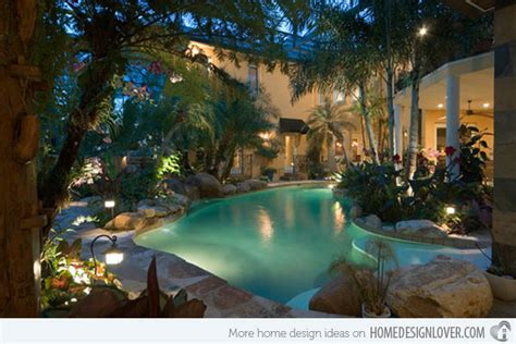 15 Amazing Backyard Pool Ideas Home Design Lover Amazing Backyards With Pools