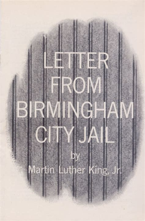 Letter From Birmingham Letter From Birmingham City What Would King Say Today American Friends Service Committee