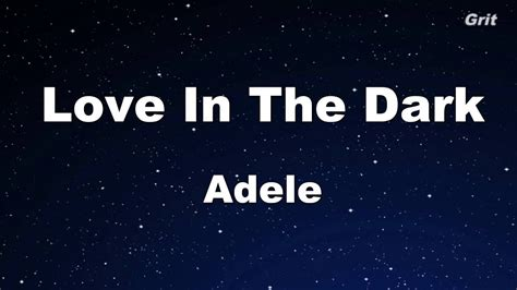 download mp3 adele love in the dark love in the dark adele karaoke no guide melody
