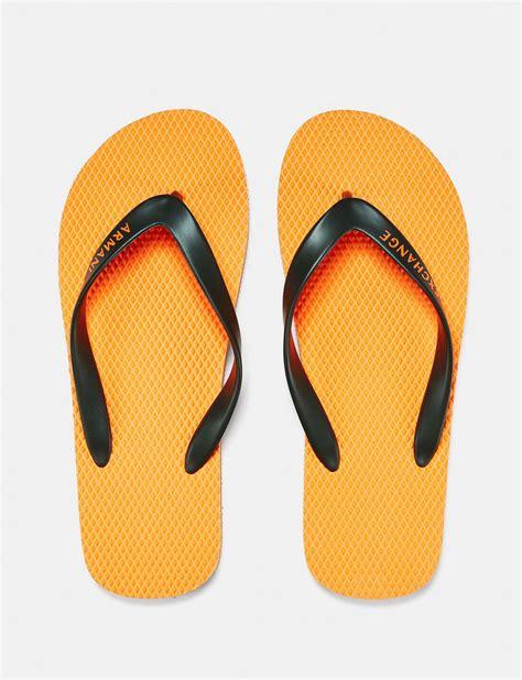 Sendal Cowok Import Colorblock Flip Flop armani exchange solid flip flop flip flop for a x store