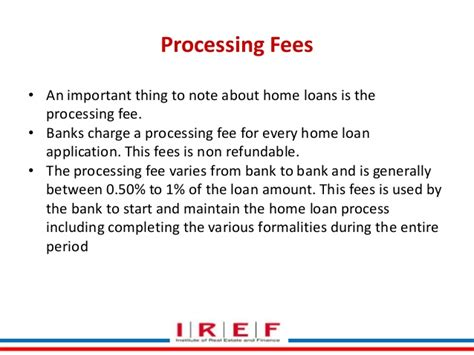 Housing Loan Processing Fee 28 Images Home Loan