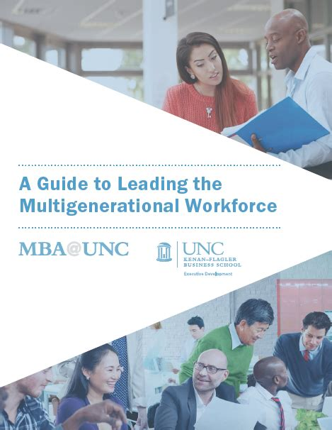 Unc Mba Career Services by A Guide To Leading The Multigenerational Workforce