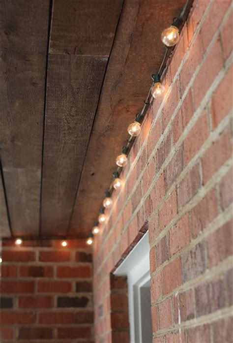How To Hang Lights On Brick by 25 Best Porch Ceiling Ideas On