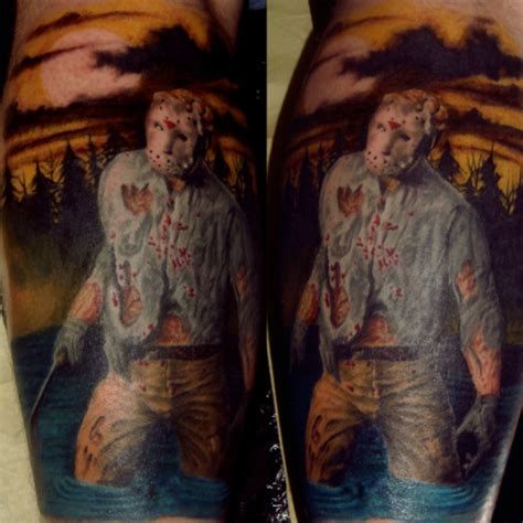 jason voorhees tattoos 20 amazing tattoos inspired by horror
