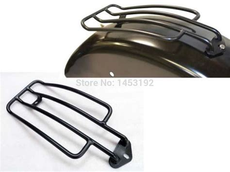 free shipping black luggage rear fender rack for