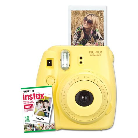 Instax Paper Polos fujifilm instax mini instant yellow
