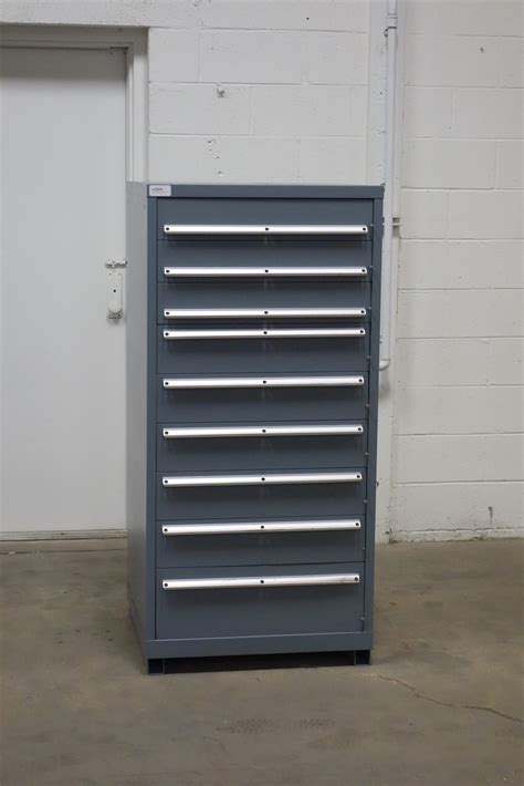 Lista Cabinets Used by Used Lista 9 Drawer Cabinet Industrial Tool Parts Storage