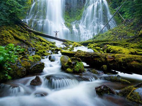 proxy falls mckenzie river waterfalls eugene cascades
