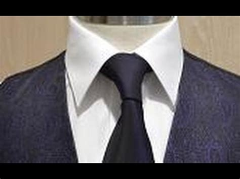 nudos corbata modernos nudo de corbata simple perfecto o nudo americano paso a