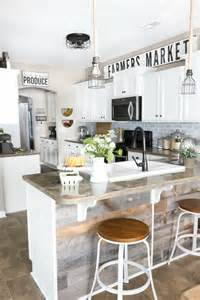 Modern Farmhouse Kitchen Makeover Reveal   Bless'er House