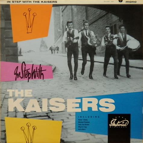 the kizer the kaisers in step with the kaisers vinyl lp album