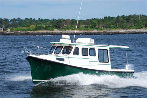 rosborough boat reviews rosborough 246 outboard powered pocket cruiser cruising