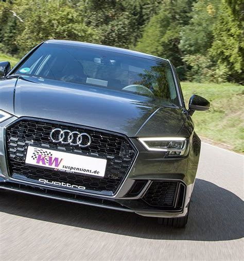 Audi Rs3 Kw by Kw Suspension Releases A Coilover Variant 3 Solution For