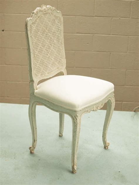 Caned Dining Chairs 19th Century Louis Xv Caned Back Dining Chairs At 1stdibs
